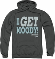 Californication pull-over hoodie I Get Moody adult charcoal