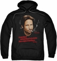Californication pull-over hoodie Morning Night adult black
