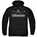 Californication pull-over hoodie Outstretched adult black
