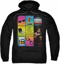 Californication pull-over hoodie Poor Judgement adult black
