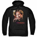 Californication pull-over hoodie Smoker adult black