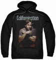 Californication pull-over hoodie Smoking adult black