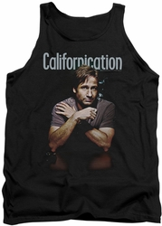 Californication tank top Smoking mens black