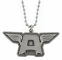 Captain America A Wing Pendant Dog Tag