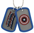 Captain America Character double sided Dog Tag