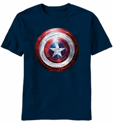 Captain America Covered Light t-shirt men navy pre-order