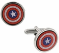 Captain America Cuff Links Colored
