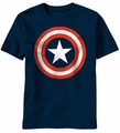 Captain America Marvel adult T-Shirt 80's style