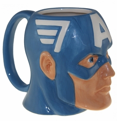 Captain America Molded Coffee Mug