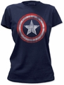 Captain America Shield junior's t-shirt