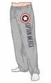 Captain America Sleep Pant Quick Turn mens heather