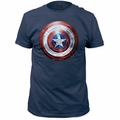 Captain America Mens t-shirt Winter Shield