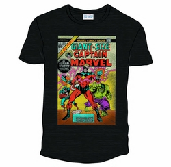 Captain Marvel Px Black Heather T-Shirt pre-order