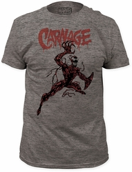 Carnage action pose fitted jersey tee pre-order