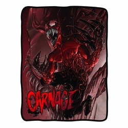Carnage Fleece Blanket