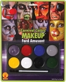 Carnival Colors makeup kit Clown Halloween accessory
