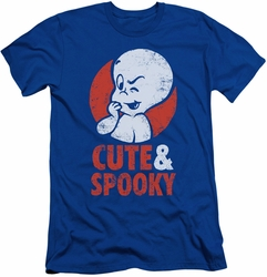 Casper slim-fit t-shirt Spooky mens royal blue