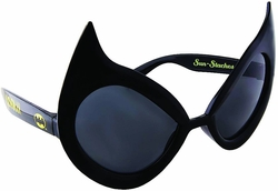 Catwoman Black SunStaches Sunglasses