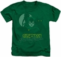 Catwoman kids t-shirt Perrfect! kelly green