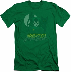 Catwoman slim-fit t-shirt Perrfect mens kelly green