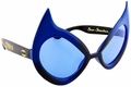 Catwoman blue Sunstaches Sunglasses