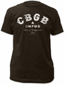 CBGB distressed logo fitted jersey tee mens black pre-order