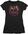 Charmed juniors t-shirt Girls black