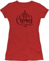 Charmed juniors t-shirt Logo red