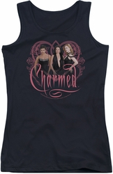 Charmed juniors tank top Charmed Girls black