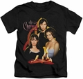 Charmed kids t-shirt Original Three black