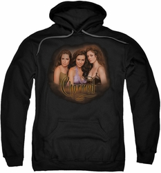 Charmed pull-over hoodie Smokin adult black
