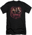Charmed slim-fit t-shirt Charmed Girls mens black