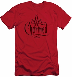 Charmed slim-fit t-shirt Charmed Logo mens red