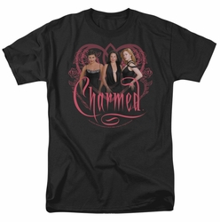 Charmed t-shirt Charmed Girls mens black
