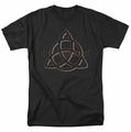 Charmed t-shirt Triple Linked Logo mens black