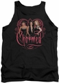 Charmed tank top Charmed Girls mens black