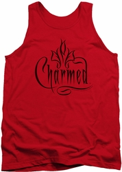 Charmed tank top Charmed Logo mens red