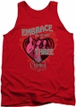 Charmed tank top Embrace The Power mens red
