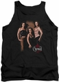 Charmed tank top Three Hot Witches mens black