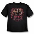 Charmed youth teen t-shirt Charmed Girls black