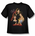 Charmed youth teen t-shirt Original Three black