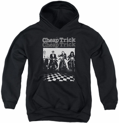 Cheap Trick youth teen hoodie Bikes black