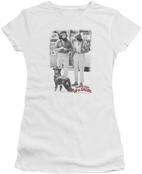 Cheech & Chong juniors t-shirt Square white