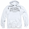 Cheech & Chong pull-over hoodie Dog adult white
