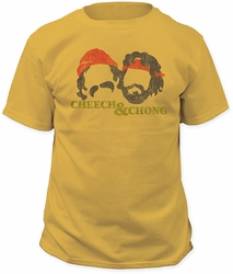 Cheech & Chong Silhouettes Fitted Jersey t-shirt