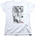 Cheech Chong womens t-shirt Square white