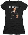 Cheers juniors t-shirt Frasier black