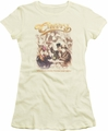 Cheers juniors t-shirt Here Here cream