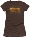 Cheers juniors t-shirt Scrolled Logo coffee