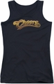 Cheers juniors tank top Cheers Logo black